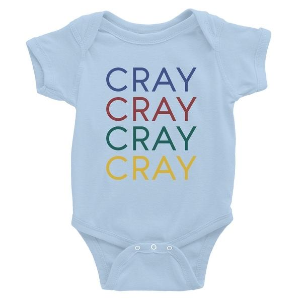 8bd03b136e637 365 Printing Cray Baby Bodysuit Gift Sky Blue Baby Girl Birthday Baby  Jumpsuit