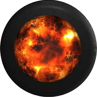 Link to Spare Tire Cover Sun On Fire Similar Items in Billiards & Pool