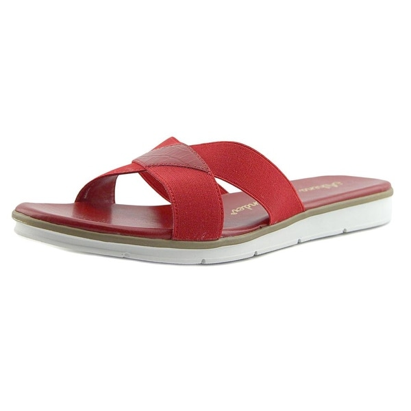 Athena Alexander Lina Red Sandals