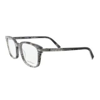 Salvatore Ferragamo SF2771 031 Marble Grey Rectangle Optical Frames - 54-20-145