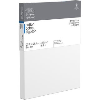 """Winsor Newton Professional Stretched Canvas Cotton-8""""X10"""""""