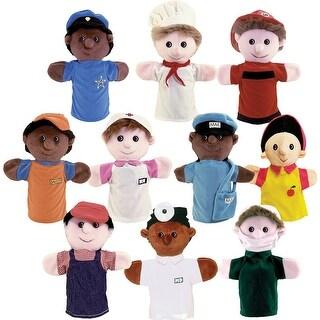 Community Helper Puppets Set Of 10