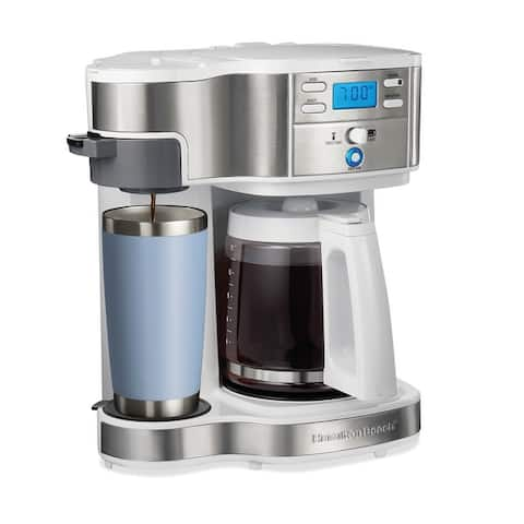 Hamilton Beach 2-Way Programmable Coffee Maker,