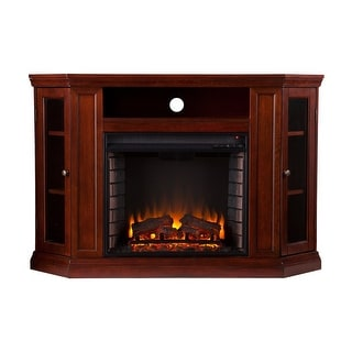 Southern Enterprises FE9310 Claremont Convertible Media Electric Fireplace - Cherry