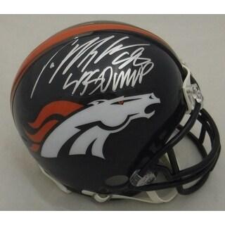 Von Miller Autographed Denver Broncos Riddell Mini Helmet SB MVP JSA