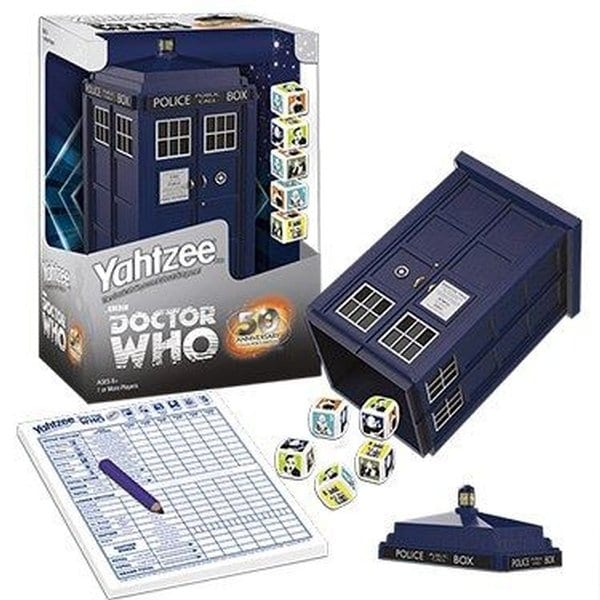 Yahtzee Dice Game Doctor Who - multi