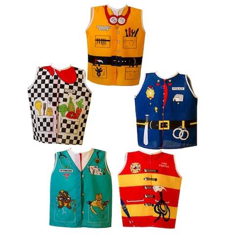 Dexter educational toys career toddler set firefighter cook 309