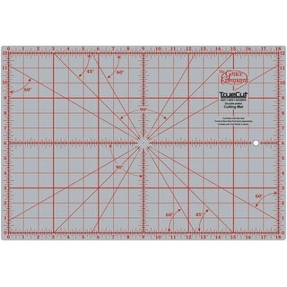 "TrueCut Double-Sided Rotary Cutting Mat-12""X18"""