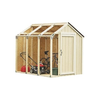 2X4 Basics Peak Style Shed Kit