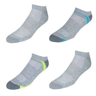 Hanes Men's Big and Tall X Temp No Show Socks (4 Pair Pack)