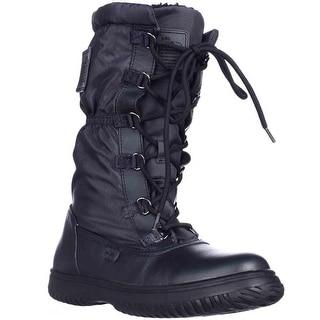 Coach Sage Winter Boots, Midnight Navy