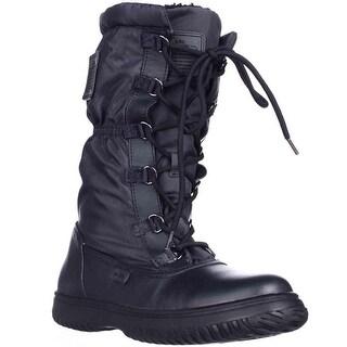 Coach Sage Winter Boots, Midnight Navy - 8 us