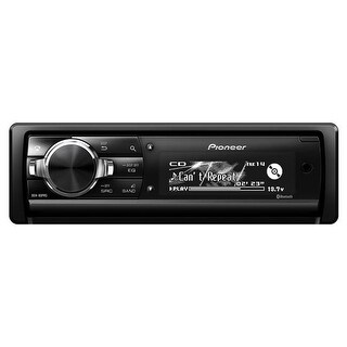 CD Receiver with 3-Way Active Crossover Network Auto EQ and Auto