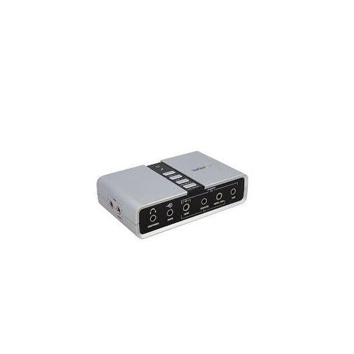 Startech Icusbaudio7d 7.1 Usb Audio Adapter External Sound Card With Spdif Digital Audio