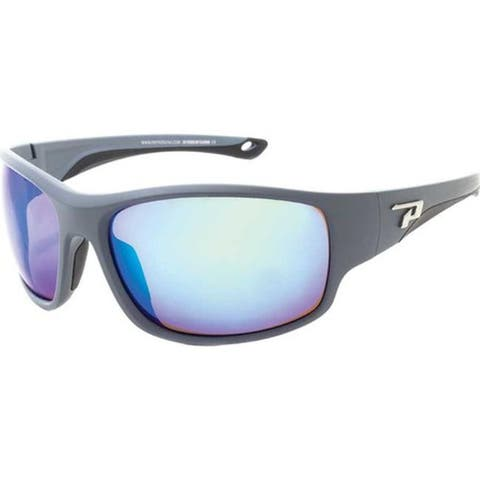 81c3e2808321 Peppers Sweetwater Sunglasses Matte Grey/Brown Polarized/Ocean Blue Mirror  - US One Size