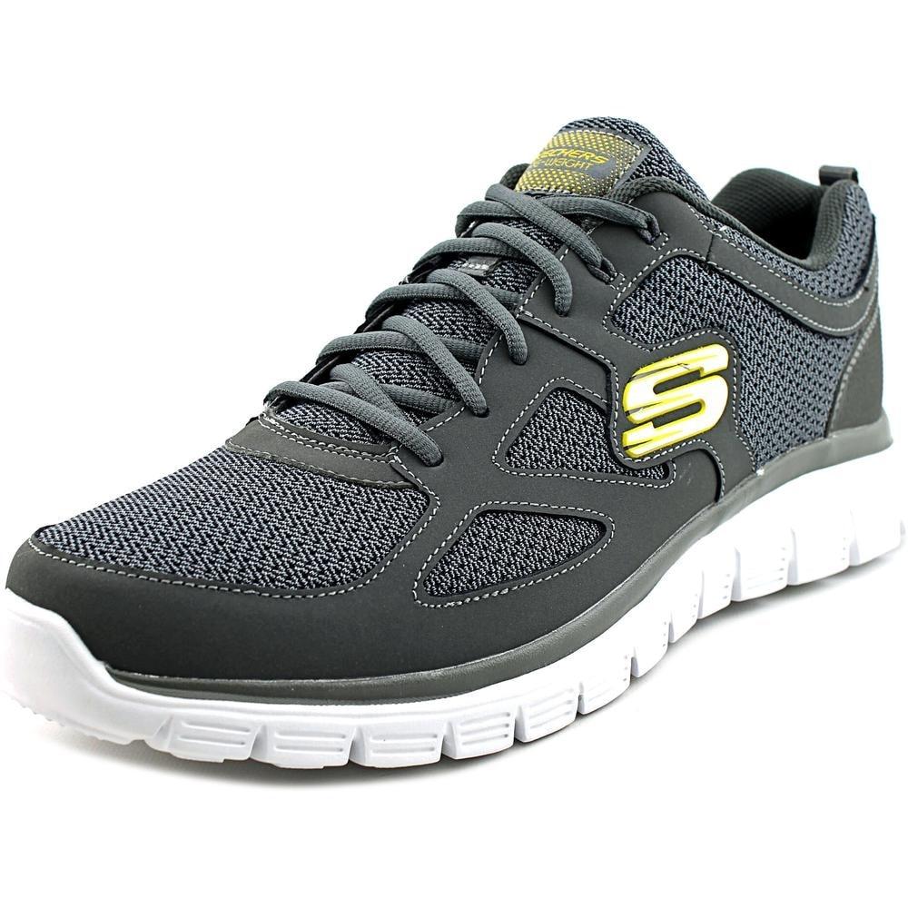 Esmerado proporción pecho  Shop Skechers Burns-Agoura Men Round Toe Leather Gray Walking Shoe -  Overstock - 14287302