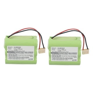 Replacement Battery for Dirt Devil DM6780VX (2-Pack)
