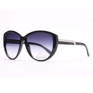109f42e7a9 Anais Gvani Chic Open Temple Fashion Sunglasses with Logo Accent by Dasein.  SALE. Quick View