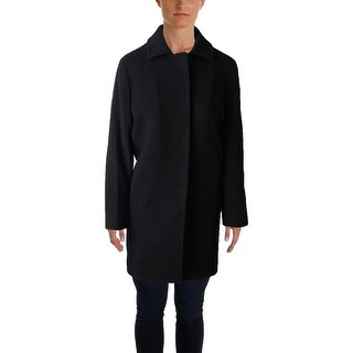 Cinzia Rocca Womens Plus Basic Coat Wool Blend Long Sleeve - 8