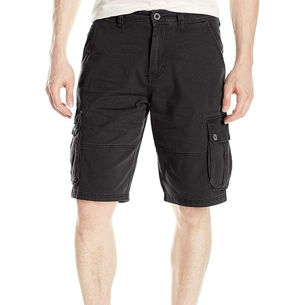 84424046ab Shop Southpole Black Mens Size 32 Classic Flex Movement Cargo Shorts - Free  Shipping On Orders Over $45 - Overstock - 27186598