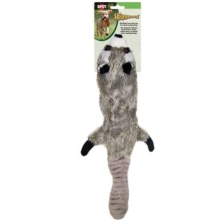 "Skinneeez Stuffing Free Dog Toy 23""-Raccoon"