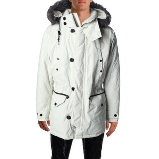 Nautica Mens Water Resistant Down Filled Parka