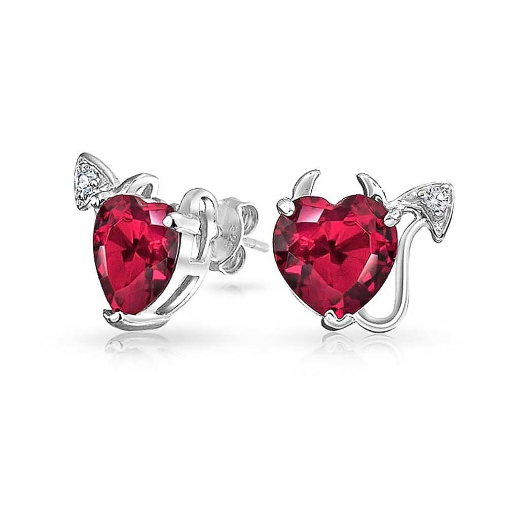 Heart Studs Lovely Ear Studs Heart Jewelry Valentines Earrings Valentines Day Earrings Valentines Jewelry