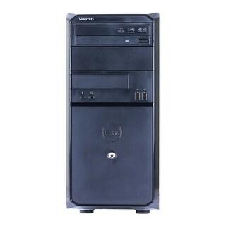 Dell Vostro 230 Computer Tower Intel Core 2 Duo E7500 2.93G 4GB DDR2 160G Windows 10 Home 1 Year Warranty (Refurbished) - Black