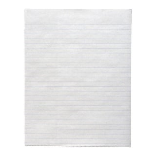 School Smart Newsprint Paper, California Approved, 8-1/2 x 11 Inches, White, 500 Sheets