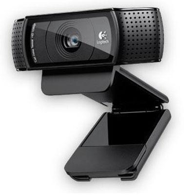 Logitech 960-000764 Hd Pro Webcam C920 Widescreen Video Calling & Recording 1080P