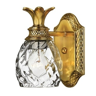 """Hinkley Lighting H5310 1 Light 5"""" Width Bathroom Sconce from the Plantation Collection"""