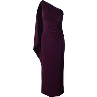Lauren Ralph Lauren Womens Formal Dress One Shoulder Full Length