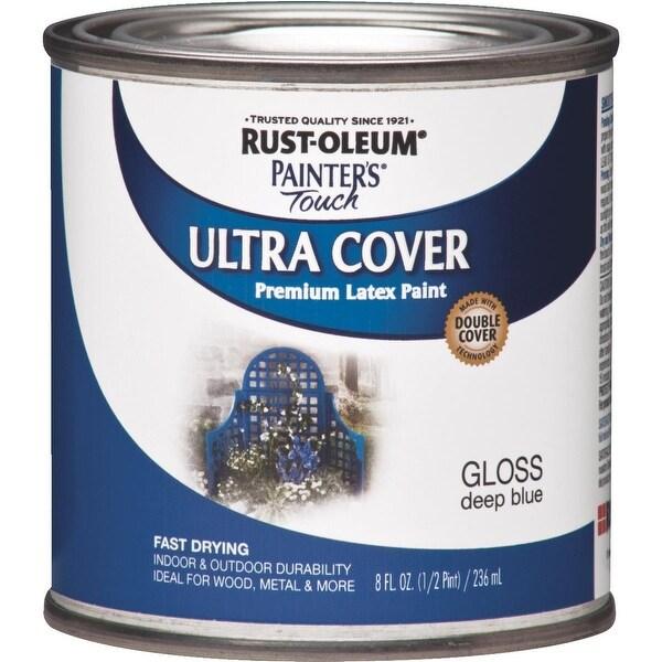 RustOleum Deep Blue Latex Paint