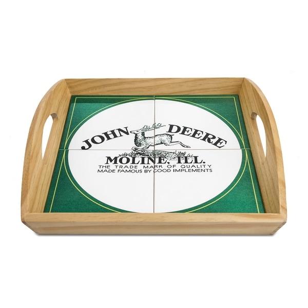 Old Memories John Deere Decorative Wooden Serving Tray