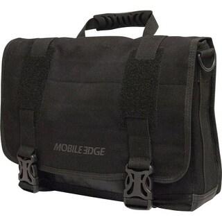 "Mobile Edge MEUME1 Mobile Edge ECO Carrying Case (Messenger) for 15"" Notebook, MacBook Pro, Tablet, iPad, Ultrabook - Black"