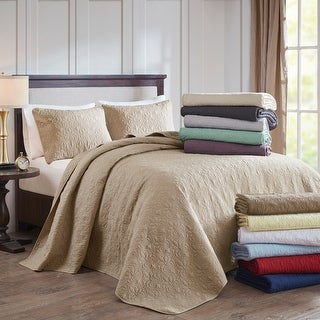Link to Madison Park Mansfield Reversible Bedspread Set Similar Items in Quilts & Coverlets