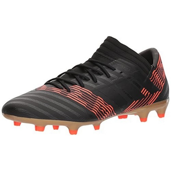 Adidas Mens Nemeziz 17.3 Fg, Black/Black/Red