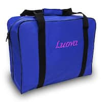 "Luova 14"" Sewing Tote For 3/4 Size Machines In Cobalt Blue"
