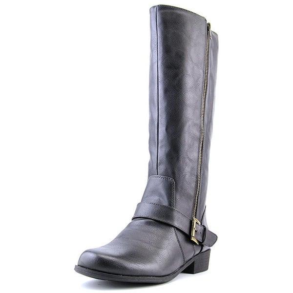 Naturalizer Veracruz W Round Toe Synthetic Knee High Boot