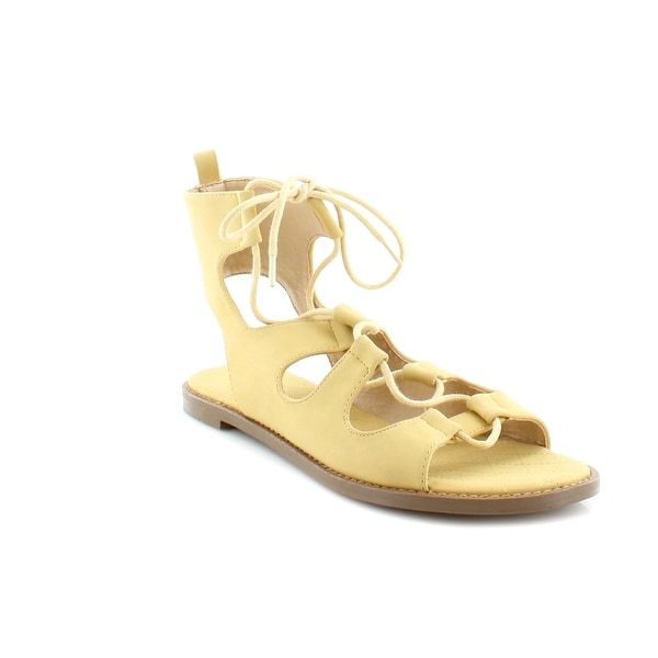 Chinese Laundry Guess Who Women's Sandals & Flip Flops Yellow