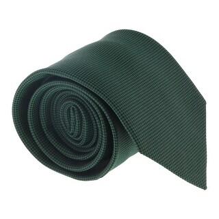 Ermenegildo Zegna Green Micro Neat Tie - 60-3