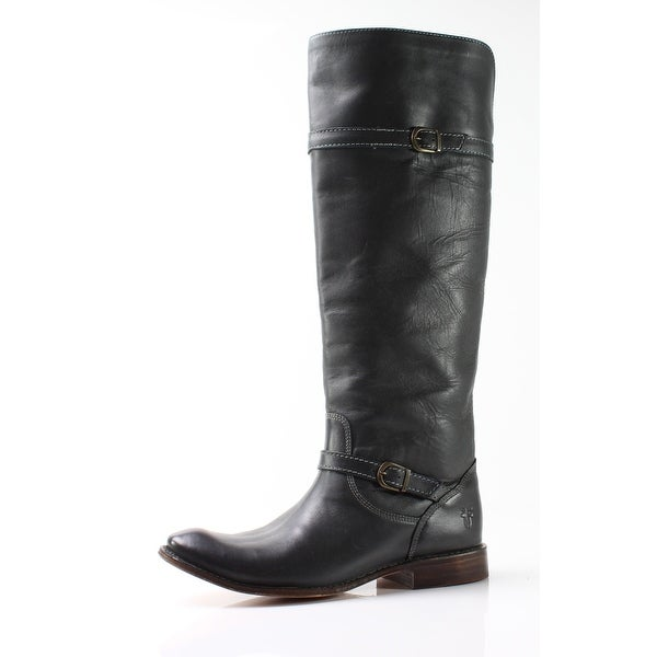 Frye NEW Dark Gray Women's Shoes Size 6.5M Shirley Riding Boot