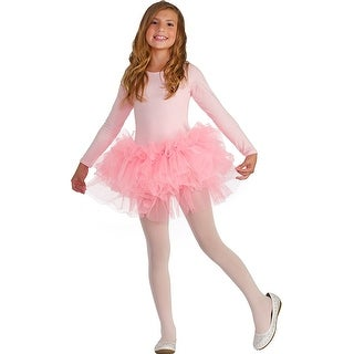 Fluffy Tutu Child's Costume Pink