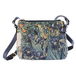Link to Signare Women's Fine Art Tapestry Crossbody Bag - Van Gogh, Monet or Klimt Purse - Medium Similar Items in Shop By Style
