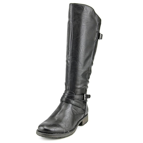 Baretraps Susanna   Round Toe Synthetic  Knee High Boot