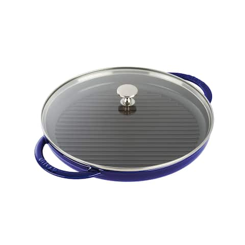 Staub Cast Iron 12-inch Round Steam Grill