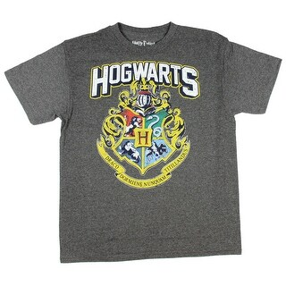 Harry Potter Hogwarts School Crest Big Boy's Youth T-Shirt (4 options available)