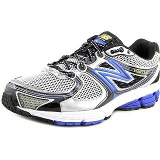 New Balance M680 Men 4E Round Toe Synthetic Gray Tennis Shoe