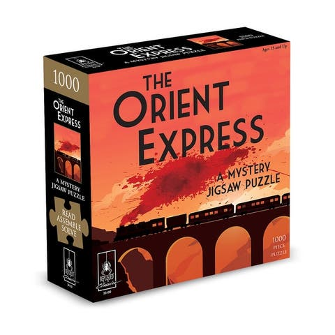 The Orient Express Classic Mystery Jigsaw Puzzle - 1000 Pcs