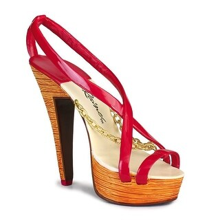 Just the Right Shoe Stacked Shoe Figurine - Red